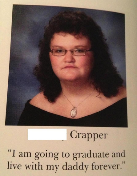 32 Worryingly Funny Yearbook Quotes