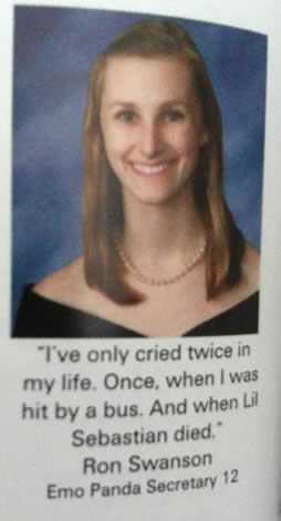 32 Worryingly Funny Yearbook Quotes Flokka