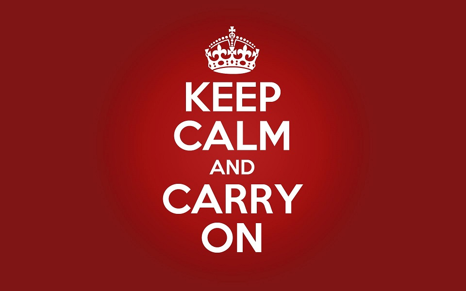 "Origins of ""Keep Calm and Carry On"""