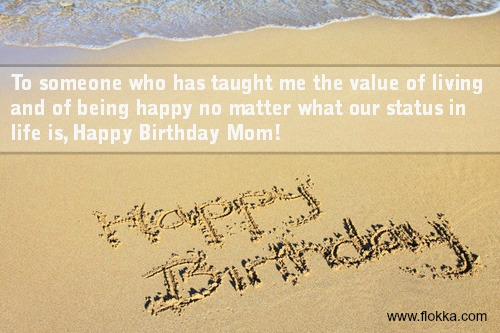 38 Happy Birthday for Mom Quotes - Flokka