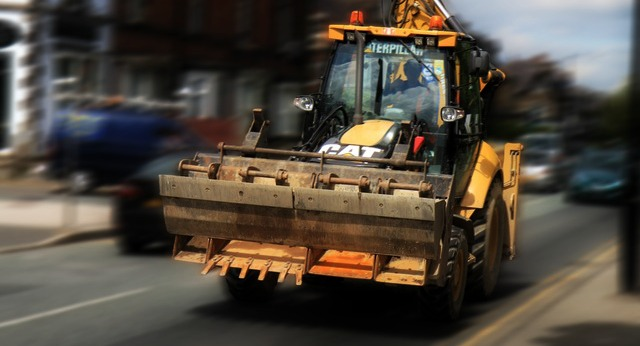 Man charged with drunk driving a stolen bulldozer
