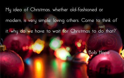Merveilleux Quotes About Christmas Bob Hope